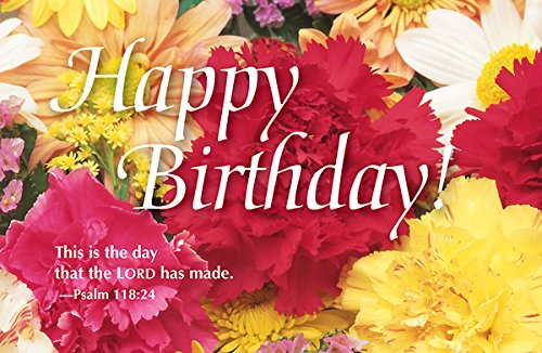 Happy Birthday Bouquet Postcard (Pkg of 25) pdf epub