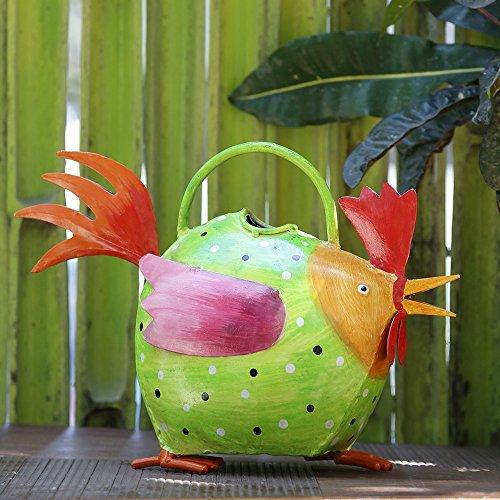 Iron Watering Can Gardening & Lawn Care Watering Equipment Outdoor & Indoor Patio Watering Cans (Hen)
