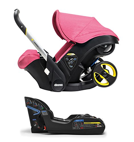 Doona Infant Car Seat & Latch Base – Sweet (Pink) – US Version