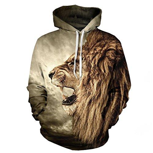 SAYM Unisex Simulation Printing Sweatshirt product image