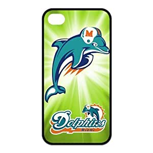 NFL Team Miami Dolphins Design TPU Case Protective Skin For Iphone 4 4s iphone4s-NY421 by kobestar