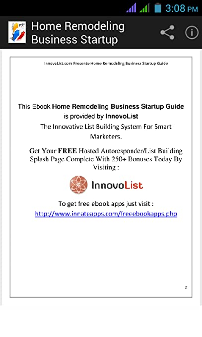Amazon Com Home Remodeling Business Startup Appstore For