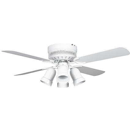 Concord fans 42hug4wh y408 42 inch hugger ceiling fan with 4 bullet concord fans 42hug4wh y408 42 inch hugger ceiling fan with 4 bullet cb white mozeypictures Choice Image