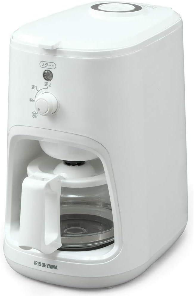 アイリスオーヤマ コーヒーメーカー 全自動 WLIAC-A600-W