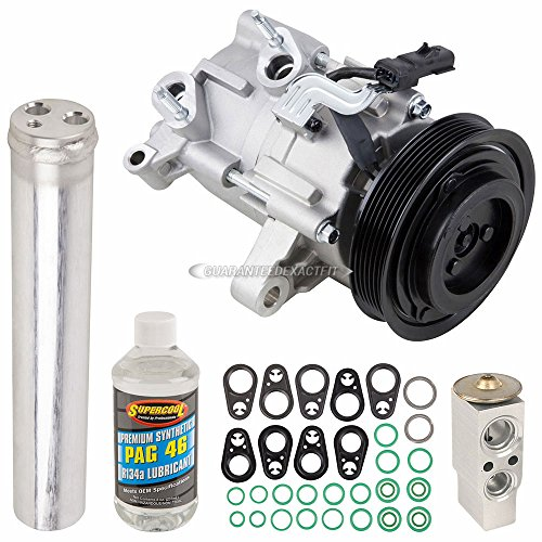 (OEM AC Compressor w/A/C Repair Kit For Dodge Nitro and Jeep Liberty - BuyAutoParts 60-83434RN NEW)