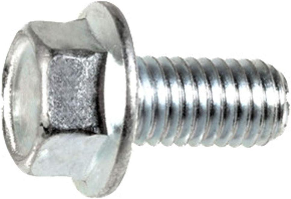 Class 10.9 Zinc 25 M6-1.0 x 25mm JIS Hex Head Flange Bolt Small Head