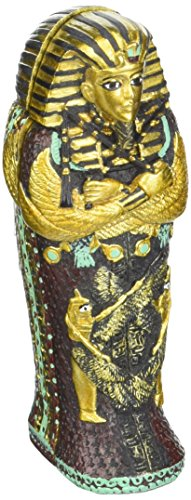 Small King Tut Coffin with Mummy Collectible Figurine