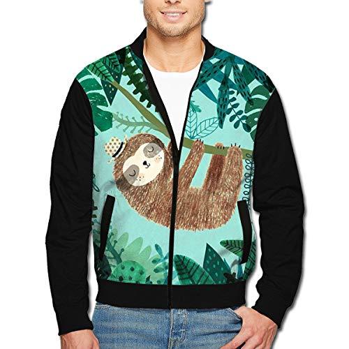 Men's Jacket Full-Zip Jacket Little Koala Tree 3D Print Outdoor Zipper Sweatshirt Tops -