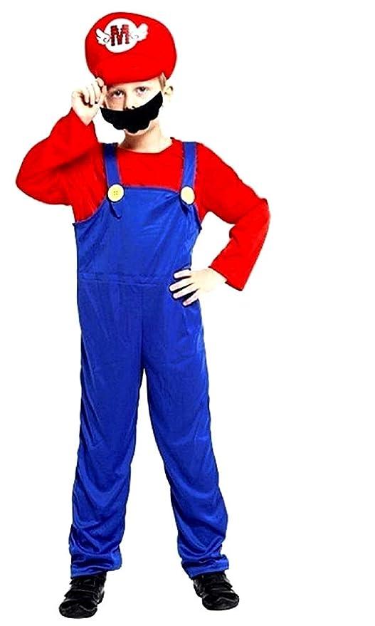 Disfraz de Super Mario Bros - Disfraz - Carnaval - Halloween ...