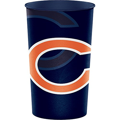 Creative Converting Chicago Bears Souvenir Cups, 8 ct -