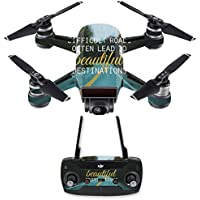 Skin for DJI Spark Mini Drone Combo - Difficult Roads| MightySkins Protective, Durable, and Unique Vinyl Decal wrap cover | Easy To Apply, Remove, and Change Styles | Made in the USA