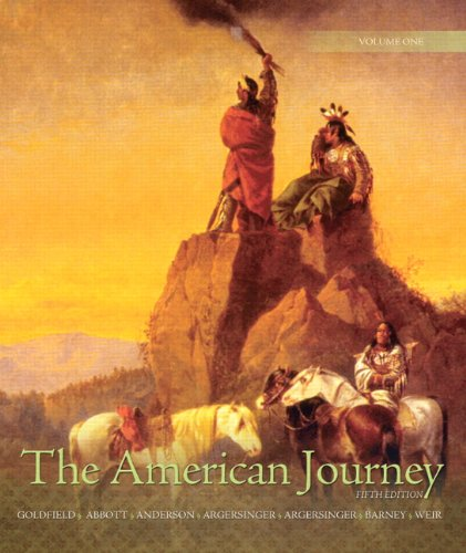 The American Journey: Update Edition, Volume 1 (5th Edition)