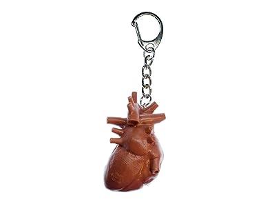 Miniblings Anillo de Llavero llaveros corazón de órganos ...