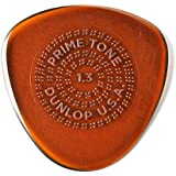 Dunlop 514P1.3 Primetone® Semi-Round Sculpted Plectra with Grip, 1.3mm, 3/Player's Pack
