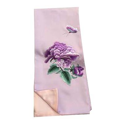 Écharpe brodée de soie de mode écharpes longues châles pour les femmes
