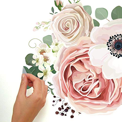 RoomMates Fresh Floral Peel And Stick Giant Wall Decals by RoomMates (Image #3)