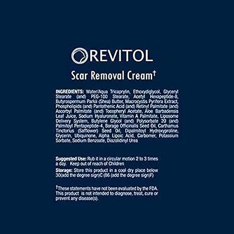 Amazon Com Revitol Scar Removal Cream Remove Scars Reduce Acne