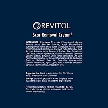 Amazon Com Revitol Scar Removal Cream Remove Scars Reduce Acne Scars Treatment With Acne Scar Removal Lotion 1