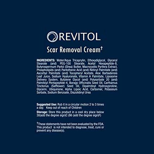 Amazon Com Revitol Scar Removal Cream Remove Scars Reduce Acne