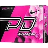 Nike Golf Women's PD9 White Golf Balls (12 Pack)