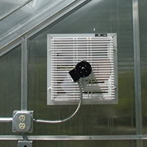 Greenhouse Motorized Shutter Fan Home Improvement