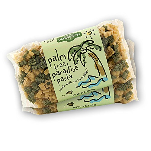 Pastabilities - Palm Tree Paradise Pasta - 14 oz. (Pack of 2) ()