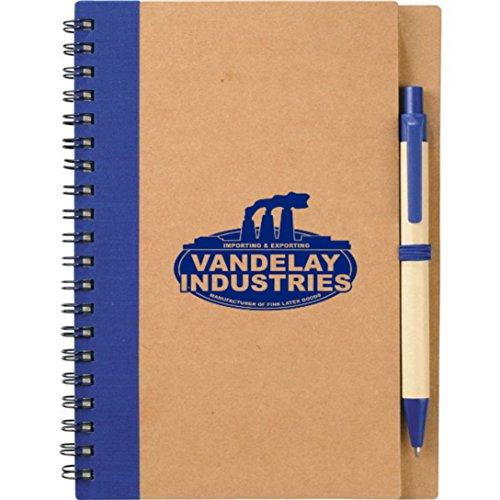 Eco Spiral - Seinfeld Prop George Costanza Vandelay Industries Eco Spiral Notebook With Pen