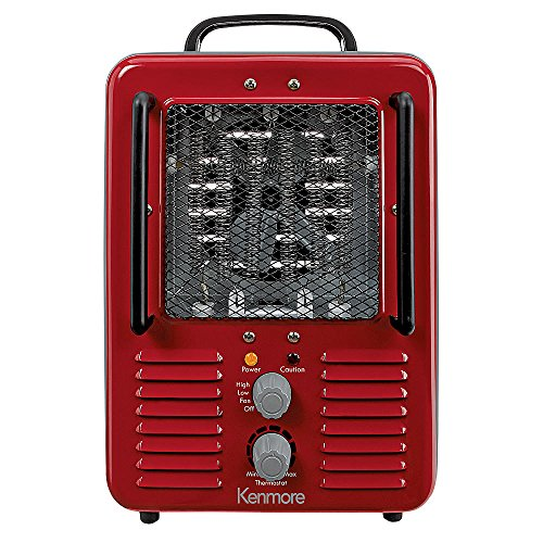 Kenmore Milkhouse Utility Space Heater Electric Electric Garage, Shop And Utility Heaters Heater Kenmore Milkhouse Space Utility