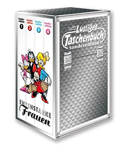 lustiges-taschenbuch-entenstarke-frauen-4-bnde-im-schuber-lustiges-taschenbuch-sonderedition