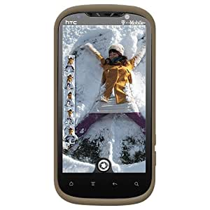 Amzer AMZ92590 Silicone Skin Jelly Case for HTC Amaze 4G, 1-Pack (Grey)