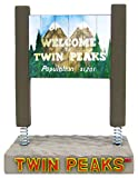 twin peaks game - Bif Bang Pow! Twin Peaks Welcome to Twin Peaks Sign Monitor Mate Bobble Action Figure