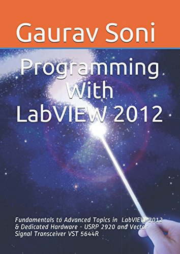 Programming with LabVIEW 2012: Fundamentals to Advanced Topics in LabVIEW 2012 & Dedicated Hardware - USRP 2920 and Vector Signal Transceiver VST 5644R (GS/03/2017/LW/ACET/AKDP)
