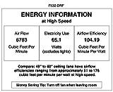 "Minka Lavery F532-DRF Ventilador de techo Minka Aire, 60 """