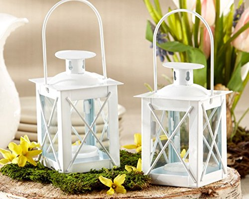 Luminous Mini Lantern Candle Holders Set of 12 | ChristmasTablescapeDecor.com