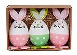 Abetteric Easter Eggs Easter Rabbits Childrens Activities 3-Pack