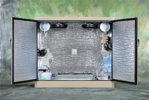 The Halfback Custom Turn Key Stealth Hydroponic Grow Box