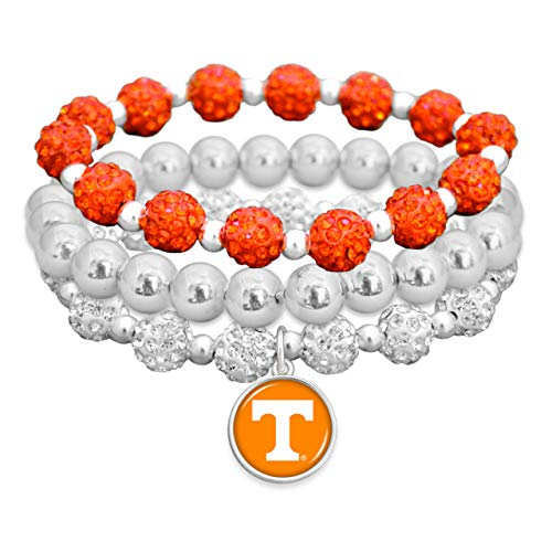 Tennessee Heart Charm - From the Heart College Team Amanda Bling Bracelet (Tennessee Volunteers)