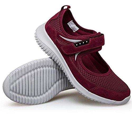 mre Baskets Rouge Femmes Taille 35 Jane Et Mesh Semelles Chaussures Lgres En Grand Antidrapante Souples Pour Mary Fonc 40 wHEZq5vT