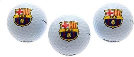 FC Barcelona de Fútbol regalo pelotas de Golf - gran Navidad ...
