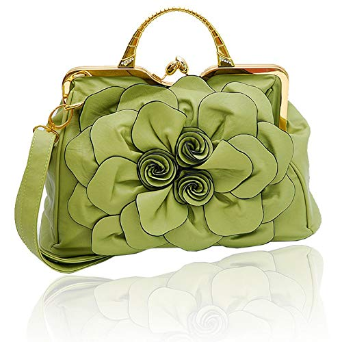 casual donna Sky Borsa da colore taglia Grassgreen verde chiaro Handbag grow Soft moda a Ladies unica spalla di wFqg8Pw