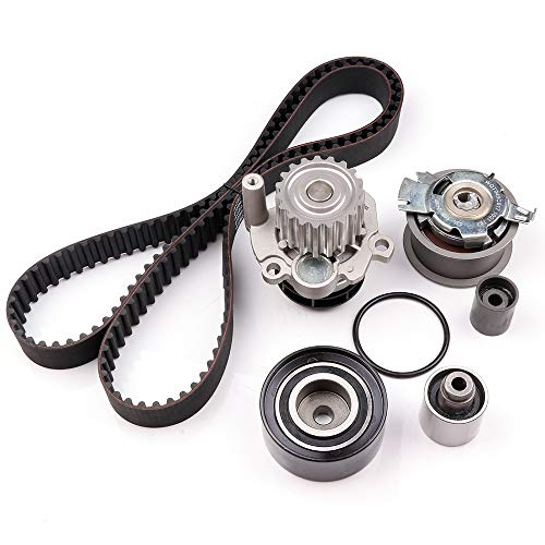 OCPTY Timing Belt Kit Including Timing Belt Water Pump with Gasket tensioner Bearing etc, Compatible for 2011 2012 2013 Audi A3/2013 2014 Volkswagen Beetle