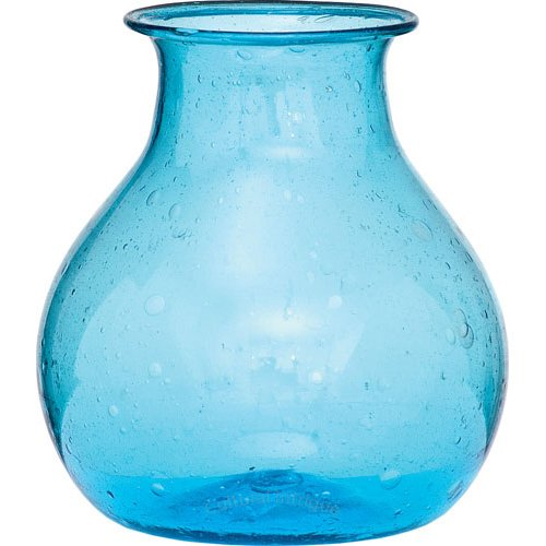 honey pot design (Turquoise Blue) (Turquoise Recycled Glass)