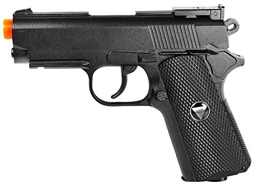 TSD Tactical SDGP321BH TSD Sports Metal M1911 CO2 Pistol Black with black grip 450+FPS