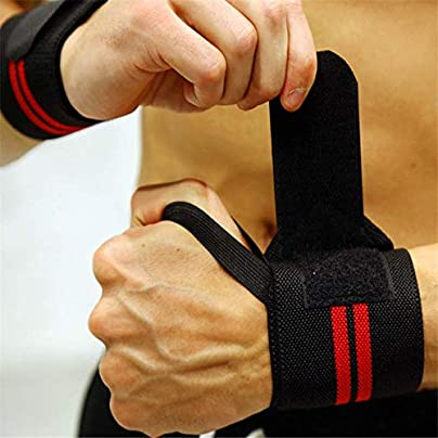 HLHSSS Wrist Wraps Pieces Adjustable Wristband Elastic Wrist Wraps Bandages For Weightlifting Powerlifting Fitness Breathable Wrist Support Wrist Wraps Estimated Price £24.32 -