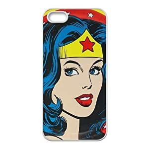 FOR Apple Iphone 5 5S Cases -(DXJ PHONE CASE)-SuperHero Wonder Woman-PATTERN 4