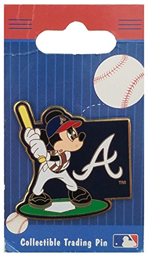 Disney Pin - Mickey Mouse MLB - Atlanta Braves