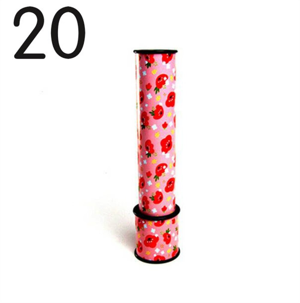 Yingealy Unique Gift Fun Classic Large Rotating Kaleidoscope Children's Toy(20)