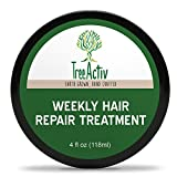 Best Growth Oil For Africa Hairs - TreeActiv Coconut Silk Hair Treatment (4 oz) | Review