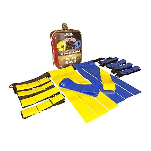 Game Flag A-tag Book (FLASH SALE NFFL 10 man flag football set, 40 piece SET ! & FLAG FOOTBALL PLAY BOOK,)