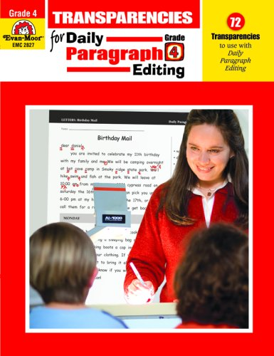 Daily Paragraph Editing Transparencies, Grade 4